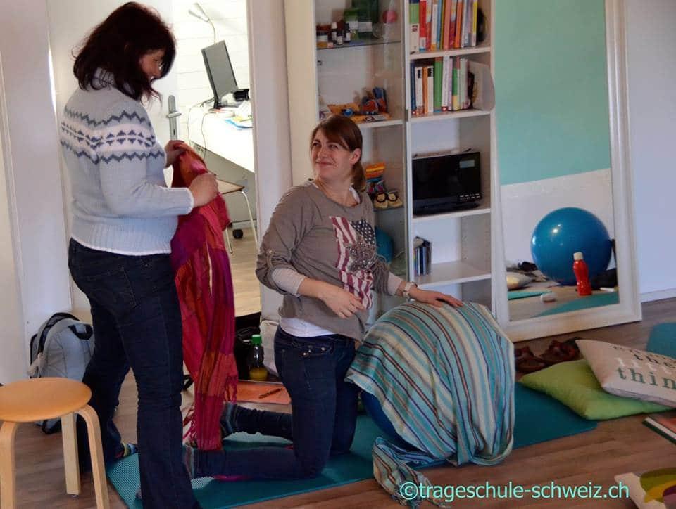 Rebozokurs Trageschule Schweiz